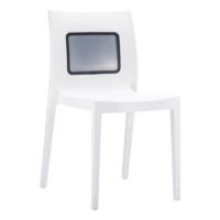 Siesta Contract Lucca-T Sandalye - Beyaz