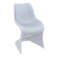 Siesta Contract Bloom Sandalye - Gümüş Gri