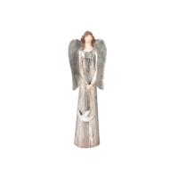 Angels İn Town Melek Biblo - Şifa (Metalik Renk) (24 Cm)