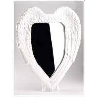 Angels İn Town Melek Kanadı Ayna Vintage Beyaz