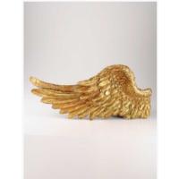 Angels İn Town Myth Melek Kanadı (Sol) Duvar Süsü Gold