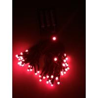 Kikajoy Pilli Led Işık Kırmızı Renk 6 mt - 1 adet