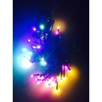 Kikajoy Pilli Led Işık Karışık Renk 6 mt - 1 adet