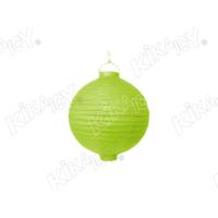 Kikajoy Yeşil Renk Pilli Japon Feneri 20 cm - 1 adet