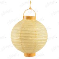 Kikajoy Sarı Renk Pilli Japon Feneri 20 cm