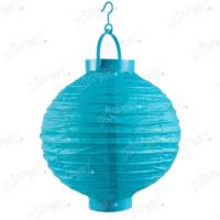 Kikajoy Mavi Renk Pilli Japon Feneri 20 cm