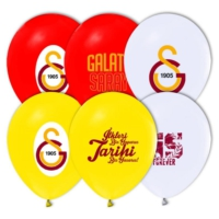 Kikajoy Çift Taraflı Galatasaray Baskılı Balon