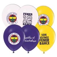 Kikajoy Çift Taraflı Fenerbahçe Baskılı Balon