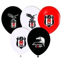 Kikajoy Çift Taraflı Beşiktaş Baskılı Balon