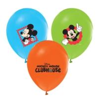 Kikajoy Çift Taraflı Mickey Mouse Baskılı Balon