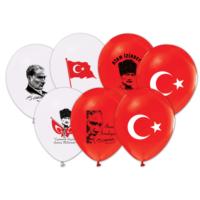 Kikajoy Atatürk&Bayrak Baskılı Balon