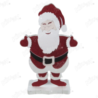 Kikajoy Standlı Strafor Noel Baba Maskot - 1 adet