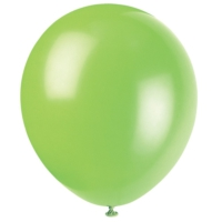 Kikajoy Baskısız Metalik Balon Açık Yeşil - 100 adet