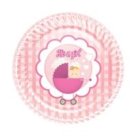Kikajoy Roll-Up Karton Tabak Kız Bebek