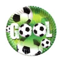 Kikajoy Roll-Up Karton Tabak Doğum Günü Erkek Futbol