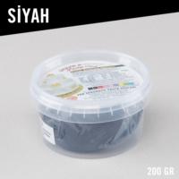 Kikajoy Şeker & Sugar Pasta Süsleme Hamuru / 200 gr. / Siyah