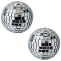 Pandoli Aynalı Cici Top Disko Topu 10 Cm 2 Li