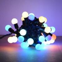Pandoli Karışık Renkli 50 Ampullü Yılbaşı Top Led Işık 4.5 Metre