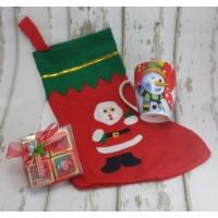 Miss Cici Yılbaşı Hediyelik Kardan Adam Kupa Çorap Ve Çikolata Seti