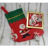 Miss Cici Yılbaşı Hediyelik 3Lü Set (Lavanta Şişesi, Çorap, Kokulu Taş)