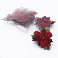 Euro Flora Puansetya Stıcker 6,2 Cm 6'Lı Pk