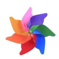 Euro Flora Rüzgar Gülü 7 Kanat 32 Cm