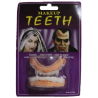 Pandoli Çift Damaklı Plastik Komik Takma Diş