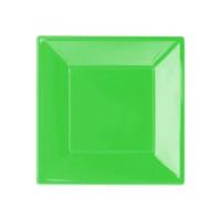 Kikajoy Plastik Tabak Yeşil - 25 adet