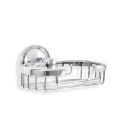 Çelik Banyo Sumbul Sabunluk Rozetlı