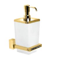 Çelik Banyo Swwor Montajlı Sıvı Sabunluk Sarı
