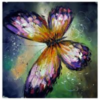 Kelebek 1 Yağlı Boya Tablo %100 El Yapımı