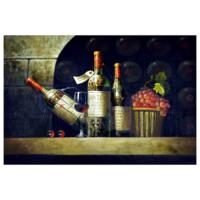 Şaraplar 60x90 Yağlı Boya Tablo %100 El Yapımı