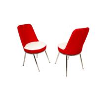 Dockers Saray Sandalye-Dragon Kırmızı Beyaz