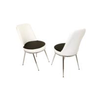 Dockers Saray Sandalye-Dragon Siyah Beyaz