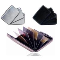 Bundera Metal Kredi Kartlık (Siyah)