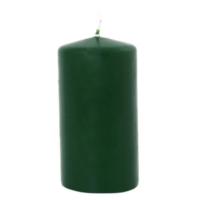 Koyu Yeşil Yılbaşı Mumu 10 cm