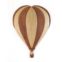 Tahta Rengi Özel Tasarım El Yapımı Uçan Balon