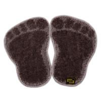 Panda Ayağı Kaymaz Taban Paspas-Kahve-1 Adet Alana 1 Adet Hediye