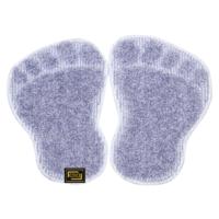 Panda Ayağı Kaymaz Taban Paspas-Açık Mavi-1 Adet Alana 1 Adet Hediye