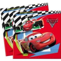 HKostüm Cars 2 Peçete (20 Ad.)