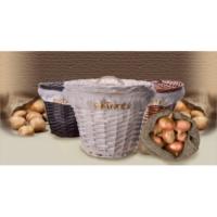 Hasır Patates Soğan Sepeti