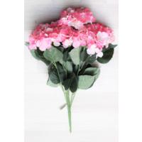 Yapay Çiçek Deposu Yapay Çiçek Jumbo 7 Dal Ortanca Demeti