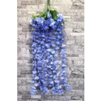 Yapay Çiçek Deposu Yapay Çiçek Mavi Sarkan Begonvil