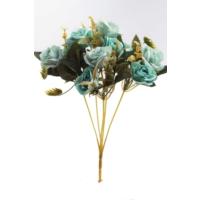 Yapay Çiçek Deposu Yapay Çiçek Pastel Renk Gül Demeti