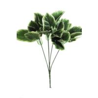 Yapay Çiçek Deposu Yapay Çiçek Yaprak Yeşillik Demeti(Beyaz Çerçeveli Model)