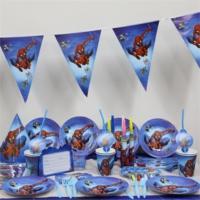 Partypark Spiderman Eko Parti Seti (16 Kişilik)