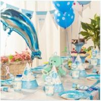 Partypark Baby Shower Boy Deluxe Parti Seti (16 Kişilik)