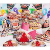 Partypark Şimşek Mcqueen Eko Parti Seti (16 Kişilik)