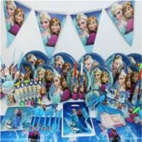 Partypark Karlar Ülkesi Elsa Deluxe Parti Seti (16 Kişilik)