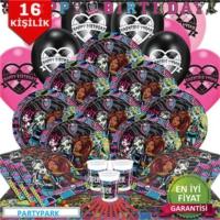 Partypark Monster High Parti Seti - Basic (16 Kişilik)